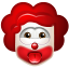 64x64px size png icon of Clown Impish