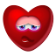 64x64px size png icon of Heart Shy