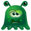 64x64px size png icon of Monster Sick
