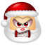 64x64px size png icon of Santa Claus Angry