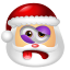 64x64px size png icon of Santa Claus Beaten
