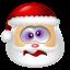 64x64px size png icon of Santa Claus Dizzy