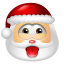 64x64px size png icon of Santa Claus Impish