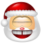 64x64px size png icon of Santa Claus Laugh