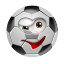 64x64px size png icon of SoccerBall Wink