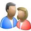 64x64px size png icon of People