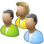 64x64px size png icon of User group