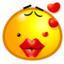 64x64px size png icon of Sweet kiss