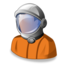 64x64px size png icon of astronaut