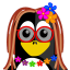 64x64px size png icon of Hippie Tux