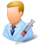 64x64px size png icon of Medical Immunologist Male Light
