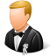64x64px size png icon of Wedding Groom Light