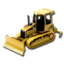 64x64px size png icon of Tractor