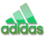 64x64px size png icon of Adidas green logo