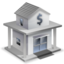 64x64px size png icon of Bank