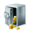 64x64px size png icon of Open safety box