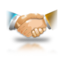 64x64px size png icon of Partnership