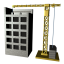 64x64px size png icon of Construction firm