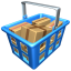 64x64px size png icon of Full basket