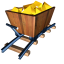 64x64px size png icon of Gold mine