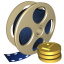 64x64px size png icon of Movie industry