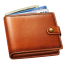 64x64px size png icon of money wallet
