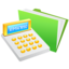 64x64px size png icon of Money Calculator