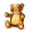 64x64px size png icon of teddy