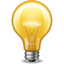 64x64px size png icon of light bulb