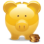 64x64px size png icon of savings