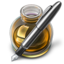 64x64px size png icon of Fire w silver pen