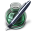 64x64px size png icon of Green w original pen