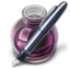 64x64px size png icon of Pink w original pen