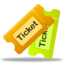 64x64px size png icon of Tickets