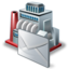 64x64px size png icon of industry mail