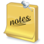 64x64px size png icon of task notes