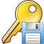 64x64px size png icon of Save key