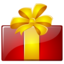 64x64px size png icon of Free gift