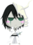 64x64px size png icon of Bleach Chibi Nr  13 Ulquiorra by rukichen