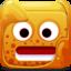 64x64px size png icon of orange block