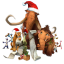 64x64px size png icon of Ice Age Christmas