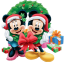 64x64px size png icon of Mickey Mouse Christmas
