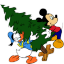64x64px size png icon of Mickey Mouse Donald Christmas