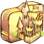 64x64px size png icon of Folder castle