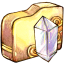 64x64px size png icon of Folder crystal