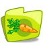 64x64px size png icon of Carrot folder