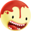 64x64px size png icon of Freaky head
