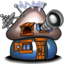 64x64px size png icon of Smurf House Brainy