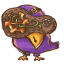 64x64px size png icon of Steampunk Bird