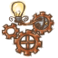 64x64px size png icon of Steampunk Light